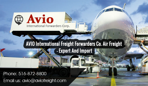 International Air Freight Shipping Export & Import Services | Avio